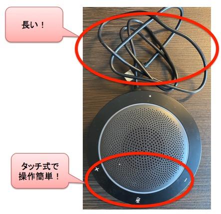 Kaysuda SP200U(スピーカーフォン)の本体