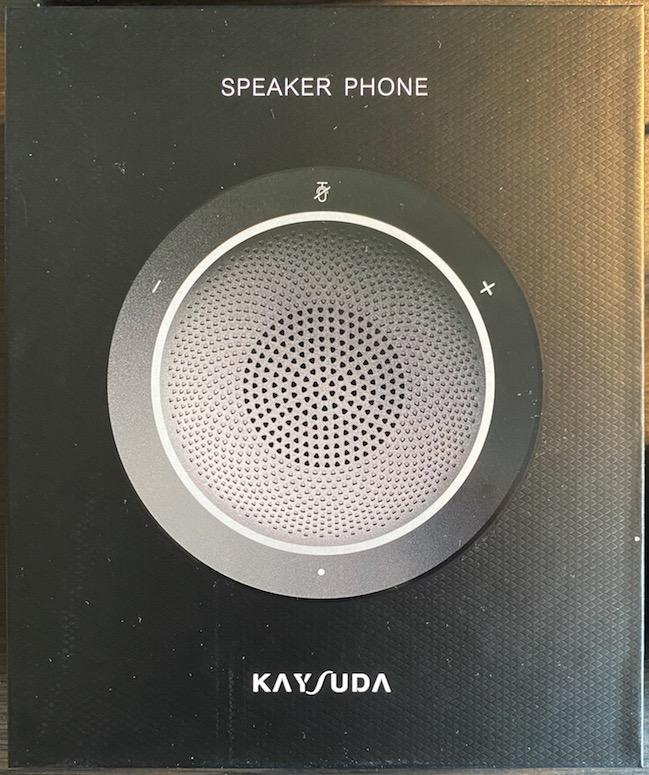 Kaysuda SP200U(スピーカーフォン)のパッケージ