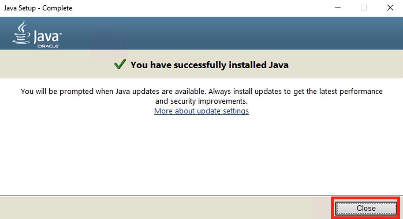 手順1:Javaをインストール